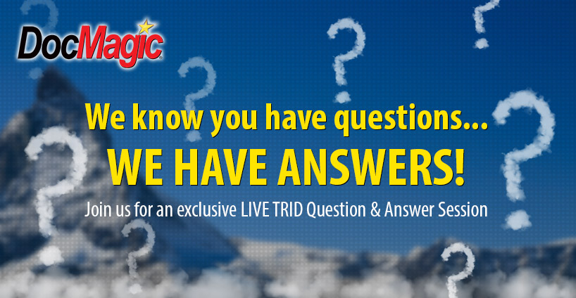 We know you have questions... We Have Answers! Join us for an exclusive LIVE Question & Answer Session